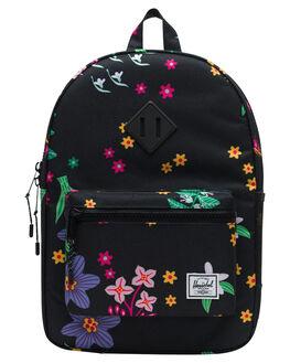 SUNNY FLORAL KIDS GIRLS HERSCHEL SUPPLY CO BAGS + BACKPACKS - 10312-02751-OSSNFLR