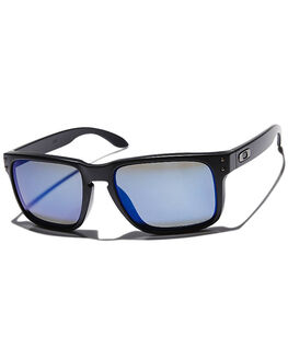 MATTE BLACK ICE IRIDIUM MENS ACCESSORIES OAKLEY SUNGLASSES - OO9102-52MBKI