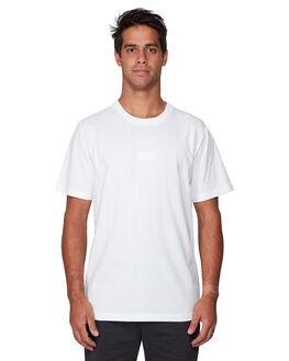 WHITE MENS CLOTHING RVCA TEES - RV-R191048-WHT