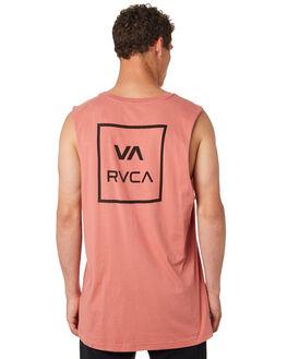 CHAI MENS CLOTHING RVCA SINGLETS - R172029CHAI