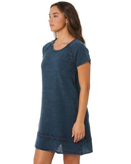NAVY WOMENS CLOTHING RIP CURL DRESSES - GDRJU10049