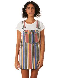 MULTI WOMENS CLOTHING RVCA DRESSES - R293758MUL