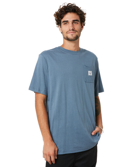BLUE MIRAGE MENS CLOTHING HERSCHEL SUPPLY CO TEES - 50028-00534