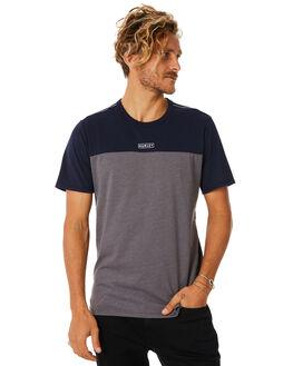 GREY HEATHER MENS CLOTHING HURLEY TEES - AQ7958050