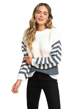 MARSHMALLOW WOMENS CLOTHING ROXY KNITS + CARDIGANS - ERJSW03319-WBT0