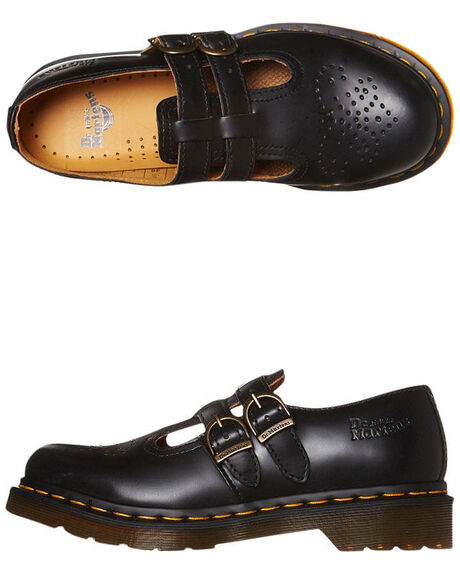 BLACK WOMENS FOOTWEAR DR. MARTENS SNEAKERS - SS1112916001BLKW