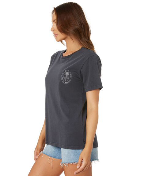 DARK SAPPHIRE WOMENS CLOTHING RUSTY TEES - TTL1083DRS