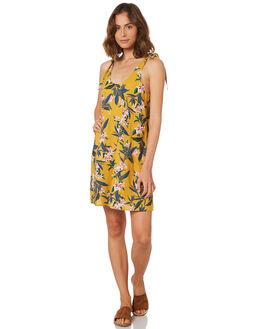 HONEY WOMENS CLOTHING RUSTY DRESSES - DRL0996HON