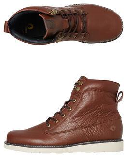 BROWN MENS FOOTWEAR VOLCOM BOOTS - V4031711BRN