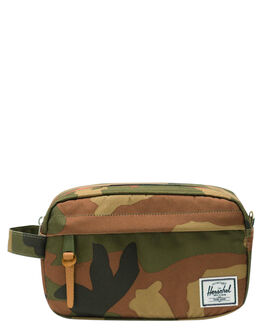 WOODLAND CAMO MENS ACCESSORIES HERSCHEL SUPPLY CO BAGS + BACKPACKS - 10347-00699-OSWDC