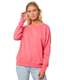 PINK WOMENS CLOTHING BILLABONG JUMPERS - 6585763PNK