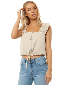 NATURAL WOMENS CLOTHING SWELL FASHION TOPS - S8182167NATRL