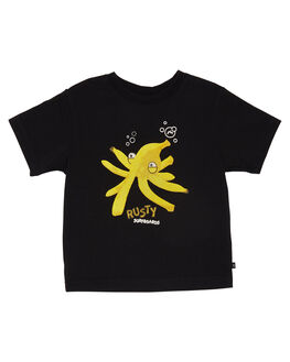 BLACK KIDS TODDLER BOYS RUSTY TEES - TTR0394BLK