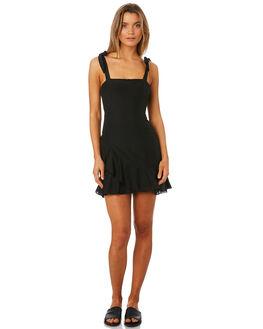BLACK WOMENS CLOTHING MLM LABEL DRESSES - MLM420BBLK
