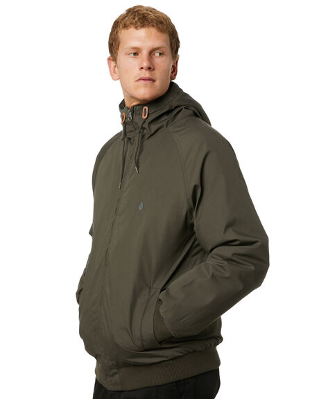 LEAD MENS CLOTHING VOLCOM JACKETS - A1731900LED