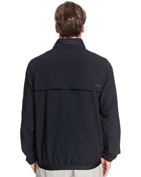 BLACK MENS CLOTHING QUIKSILVER JACKETS - EQMJK03026-KVJ0
