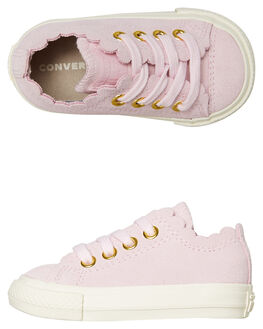 PINK KIDS GIRLS CONVERSE FOOTWEAR - 763540PINK