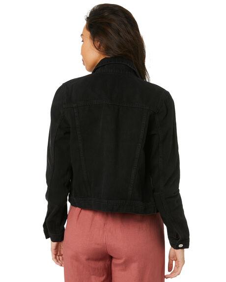 BLACK FIRE WOMENS CLOTHING LEE JACKETS - L-656810-C13