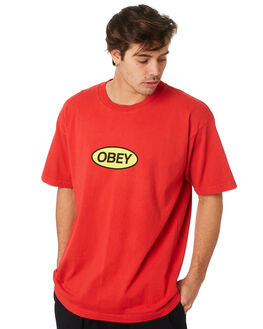 TOMATO MENS CLOTHING OBEY TEES - 166911964TOM