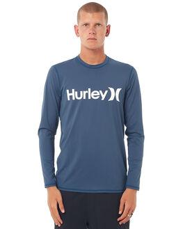 SQUADRON BLUE SURF RASHVESTS HURLEY MENS - 8946294LC