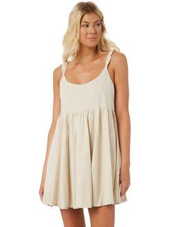 EGGSHELL WOMENS CLOTHING SAINT HELENA DRESSES - SH1821845EGG