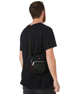 BLACK MENS ACCESSORIES THE BUMBAG CO BAGS + BACKPACKS - CB031BLK