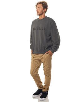 BLACK MENS CLOTHING DC SHOES JUMPERS - EDYFT03349KVJ0