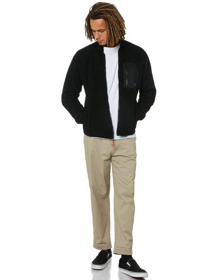 BLACK MENS CLOTHING VOLCOM JUMPERS - A4832000BLK