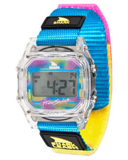 CLEAR CYAN KIDS BOYS FREESTYLE WATCHES - 10006630CLRCY