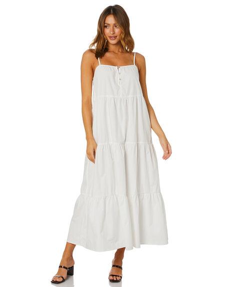 WHITE WOMENS CLOTHING SNDYS DRESSES - SFD390WHT
