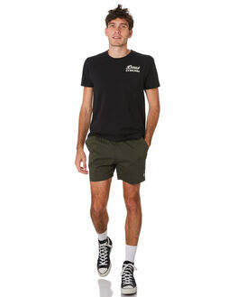 FOREST GREEN MENS CLOTHING DEUS EX MACHINA BOARDSHORTS - DMP92147AFORGR