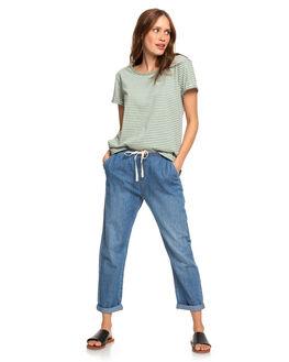 LILY PAD MARINA WOMENS CLOTHING ROXY TEES - ERJZT04641-GJN3