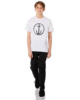 BLACK KIDS BOYS ST GOLIATH PANTS - 2414017BLK