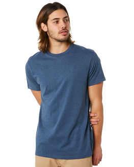 SMOKE BLUE MARLE MENS CLOTHING VOLCOM TEES - A5011530SMB