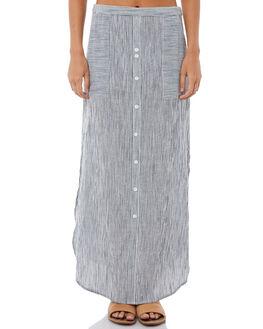 MARSHMALLOW STRIPE WOMENS CLOTHING ROXY SKIRTS - ERJWK03036WBT4