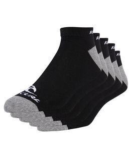 BLACK MENS CLOTHING RIP CURL SOCKS + UNDERWEAR - CSODD10090