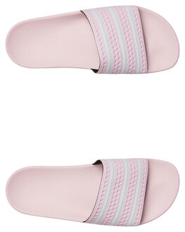 PINK WOMENS FOOTWEAR ADIDAS SLIDES - B37683PINK
