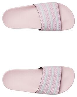 PINK WOMENS FOOTWEAR ADIDAS SLIDES - SSB37683PINKW