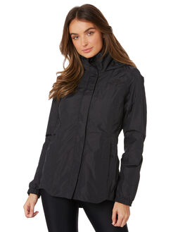 BLACK WOMENS CLOTHING THE NORTH FACE JACKETS - NF0A3MHQJK3