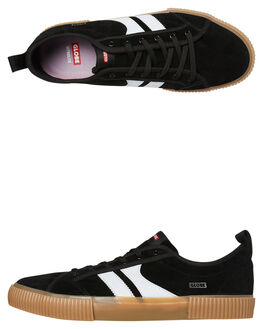 BLACK WHITE MENS FOOTWEAR GLOBE SKATE SHOES - GBFILMORE10048