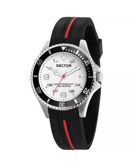 BLACK MENS ACCESSORIES SECTOR WATCHES - R3251161046