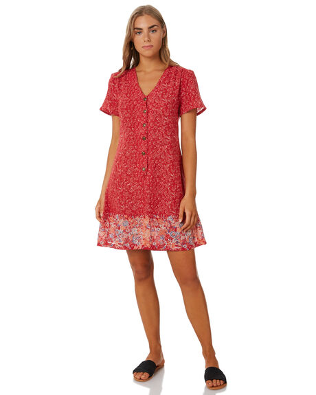 HOLIDAY VINE WOMENS CLOTHING THE HIDDEN WAY DRESSES - H8202451HOLVN