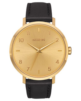 ALL GOLD BLACK UNISEX ADULTS NIXON WATCHES - A1091510