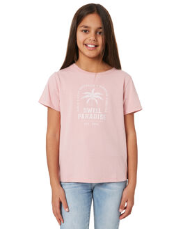 PINK KIDS GIRLS SWELL TOPS - S6204002_PINK