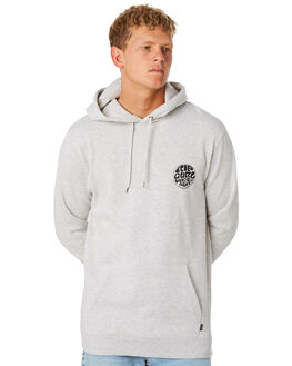 LIGHT GREY MARLE MENS CLOTHING RIP CURL JUMPERS - CFEOM13597