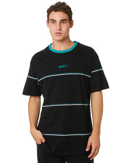 BLACK MENS CLOTHING ST GOLIATH TEES - 4321011BLK