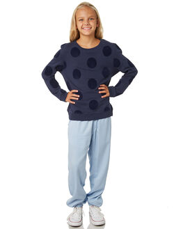 NAVY KIDS GIRLS EVES SISTER JUMPERS + JACKETS - 9530009NAVY