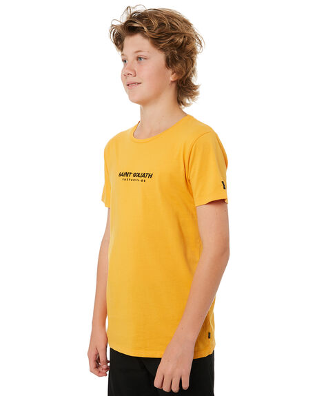 ORANGE KIDS BOYS ST GOLIATH TOPS - 2420006ORNG