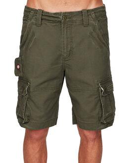 OLIVE MENS CLOTHING ELEMENT SHORTS - EL-193351-OLV