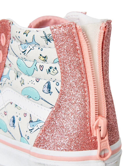 PINK ICING KIDS GIRLS VANS SNEAKERS - VN0A4BUXW3UPICI